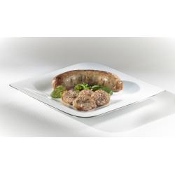 Saucisse d'Automne (châtaignes, cèpes, lardons)