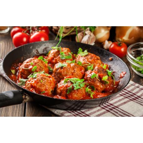 Boulettes sauce marinara