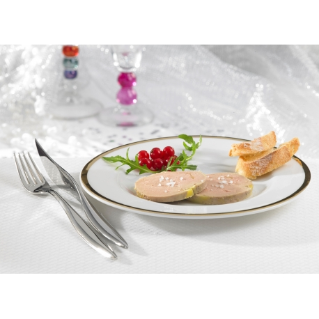 Foie gras de canard entier mi-cuit en tranches