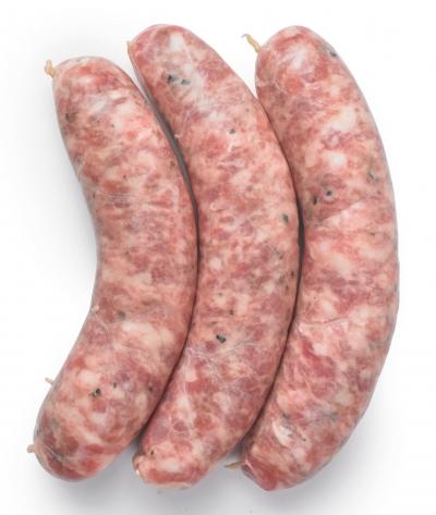 Saucisse Paysanne (poivre concassé et Sel de Guérande)