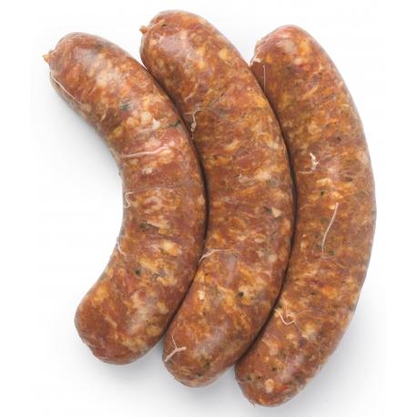 Saucisse La Gustosa (tapenade de légumes en provenance du Sud de l'Italie)