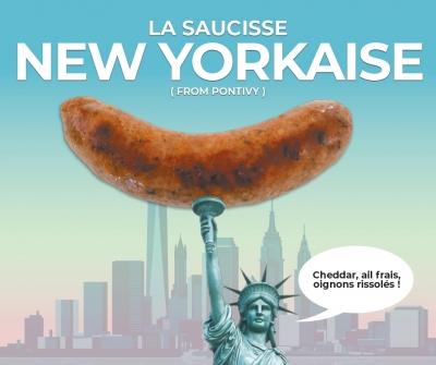 Saucisse New Yorkaise
