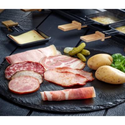 Par personne Formule Raclette / Charcuterie + Fromage