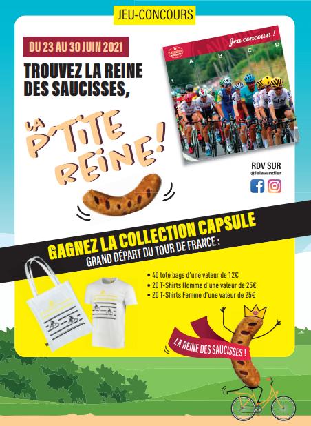 Jeu concours - Capsule Grand Départ Tour de France