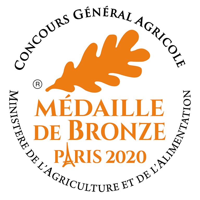 Médaille de bronze 2019 Pâté de camp