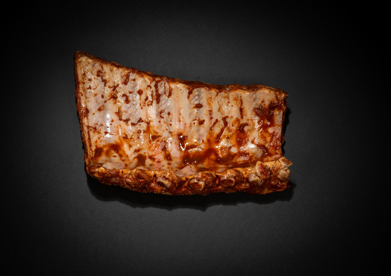 ribs marinade porc barbecue