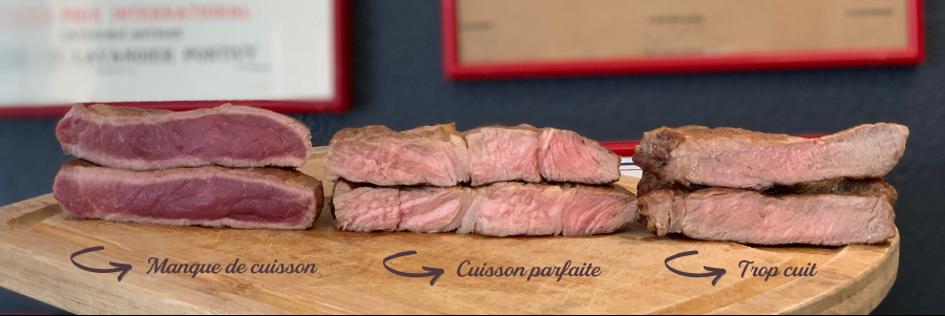 Réussir la cuisson de l'entrecôte de porc