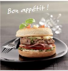 Hamburger Le Lavandier façon Mozza