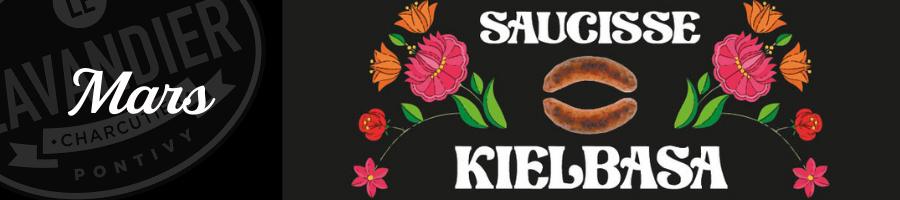 saucisse kielbasa saucisse traditionnelle polonaise
