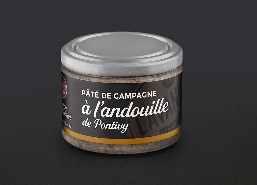 Pâté Breton de Campagne à l'Andouille